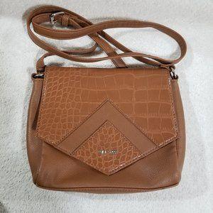 Nine West NWOT crossbody brown bag